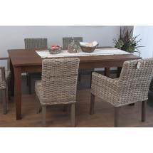 Jídelní stůl, masiv mango, 75x180x90cm