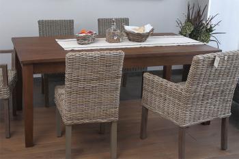 Jídelní stůl, masiv mango, 75x180x90cm HD NABYTEK A20450_KH