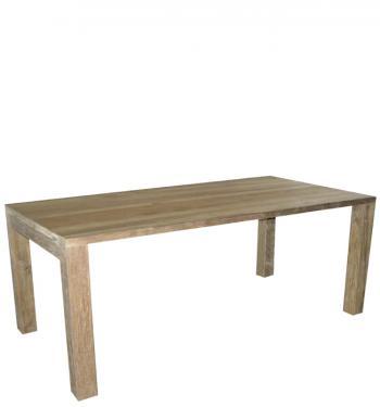 Jídelní stůl, masiv teak, 78x180x90cm HD NABYTEK A20080