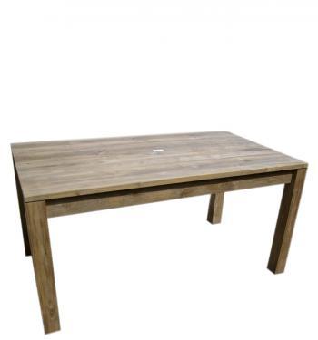Jídelní stůl, masiv teak, 79x80x90cm HD NABYTEK A20100