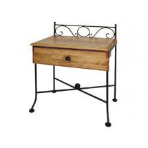 Noční stolek ROMANTIC, dub 55 x 64 x 36 cm