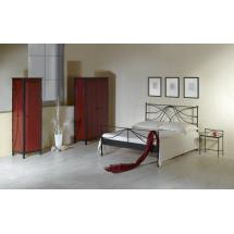 Kovaná postel CALABRIA 200 x 180 cm