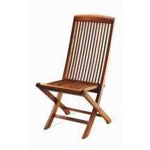 Teaková skládací zahradní židle UGO