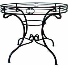 Kovaný stůl OHIO Ø 90 cm