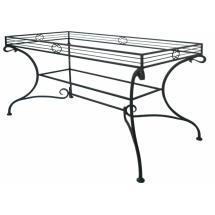 Kovaný stůl OHIO 142 x 72 x 70 cm