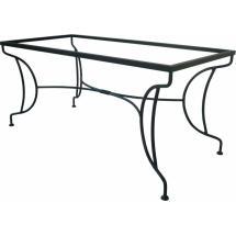 Kovaný stůl BOLOGNA 142 x 72 x 70 cm