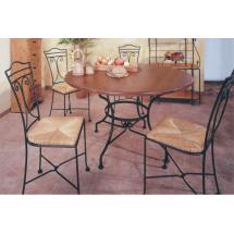 Kovaný stůl JAMAICA Ø 90 cm