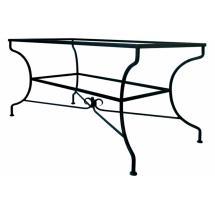 Kovaný stůl JAMAICA 142 x 72 x 70 cm