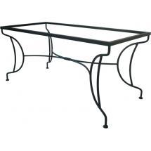 Kovový stůl VERSAILLES 185 x 72 x 85 cm