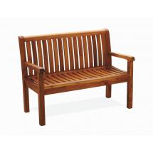 Teakové zahradní lavice PIETRO š. 120cm