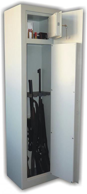 Trezorová skříň (na zbraně) WSA B6, jednoplášťová WICO WSA B6