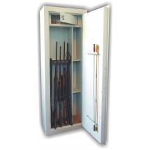 Trezorová skříň (na zbraně) WSB 6 kombi, dvouplášťová