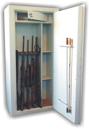 Trezorová skříň (na zbraně) WSB 10, dvouplášťová WICO WSB 10