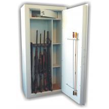 Trezorová skříň (na zbraně) WSB 10 kombi, dvouplášťová