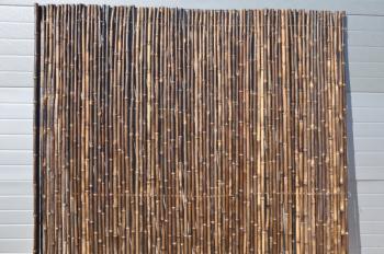 Bambusový plot 2x1,8 m, 25-30 mm natural black Axin Trading s.r.o. 5712