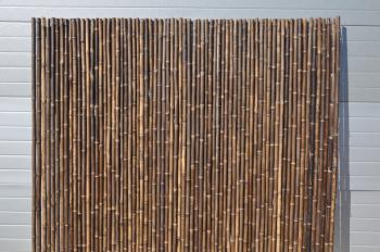 Bambusový plot 2x1,8 m, 26-35 mm natural black Axin Trading s.r.o. 5713
