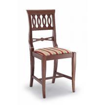 Jídelní a kuchyňská židle FRANCESINA 110, čalouněná, vsazený sedák, buk