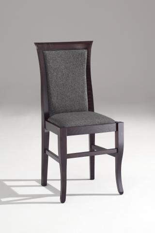 Jídelní a kuchyňská židle CLEO CLASSICA 110, čalouněná, vsazený sedák, buk
