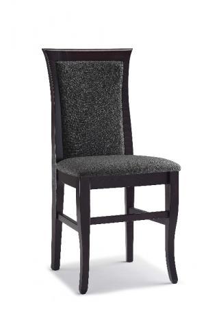 Jídelní a kuchyňská židle CLEO CLASSICA 111, čalouněná,  přesazený sedák, buk
