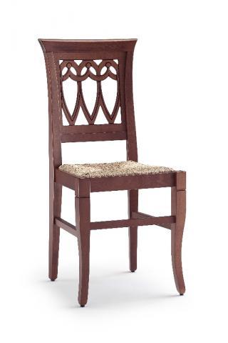 Jídelní a kuchyňská židle CLEO GOCCIA 112, sedák výplet, buk