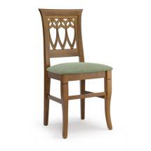 Jídelní a kuchyňská židle CLEO GOCCIA 111, čalouněná, přesazený sedák, buk