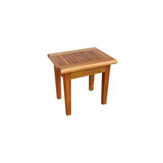 Teaková zahradní stolička PAOLO, 45x35x45cm
