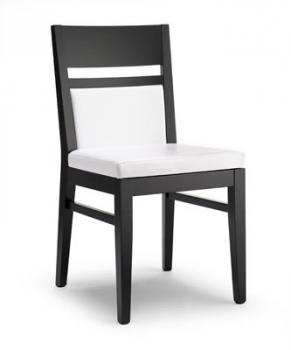 Jídelní a kuchyňská židle LEUVEN 110, čalouněná, buk Nuova Selas Selas Leuven 110