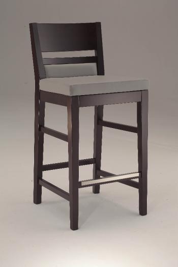 Barová židle LEUVEN 410, čalouněná, buk Nuova Selas Selas Leuven 410