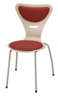 Jídelní a kuchyňská židle KLAUDIE 145 - čalouněná