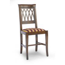 Jídelní a kuchyňská židle NIKITA RETE 110, čalouněná, buk