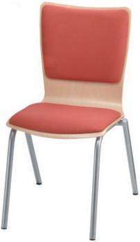 Jídelní a kuchyňská židle SIMONA - čalouněná Kovobel 243