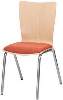 Jídelní a kuchyňská židle SIMONA B - čalouní/dřevo