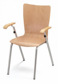 Jídelní a kuchyňská židle SAXANA - dřevěná