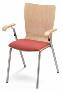 Jídelní a kuchyňská židle SAXANA - čalouněný sedák