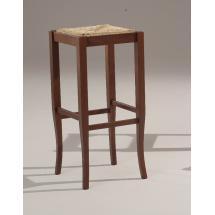 Barová židle Sgabello Arte Povera ALTO 410, sedák výplet, buk