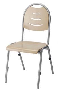 Jednací a konferenční  židle BRENDA H  - dřevo