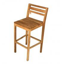 Barová židle, teak