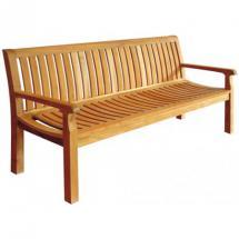 Teakové zahradní lavice PIETRO š. 180cm