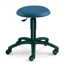 Otočná stolička MEDI, černý plastový kříž