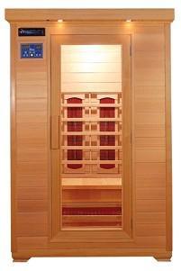Infra sauna STANDARD 2002, podlahové topení V - garden 642002B