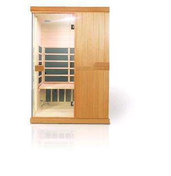 Infra sauna DeLUXE 2200 Carbon, LED osvětlení V - garden 642200KC