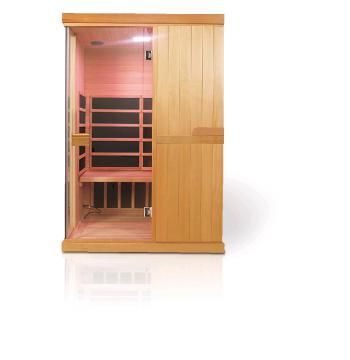 Infra sauna DeLUXE 2200 Carbon - BT, barevná terapie V - garden 642200KC-BT