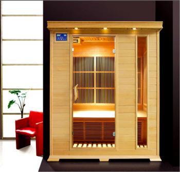 Infra sauna DeLUXE 3003 Carbon, podlahové topení V - garden 643003KC
