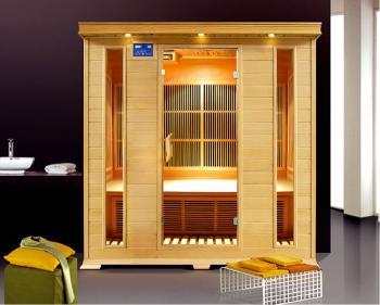 Infra sauna DeLUXE 4004 Carbon, podlahové topení V - garden 644004KC