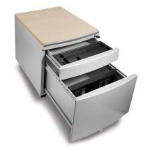 Pojízdný kontejner pro stoly PROFI3 s laminovou sedací plochou
