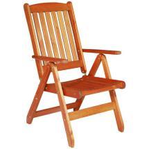 Zahradní židle - křeslo polohovací WÖRTHERSEE
