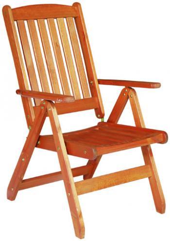 Zahradní židle - křeslo polohovací WÖRTHERSEE Doppler 261WS01107