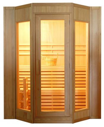 Finská sauna DeLUXE HR4045 pro 4 osoby V - garden 64HR4045