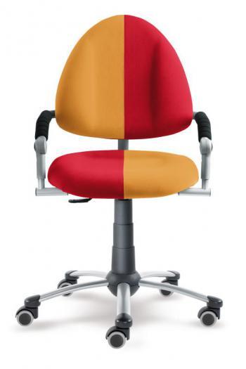 Rostoucí dětská židle FREAKY se žluto-červeným čalouněním Mayer 2436_08_461