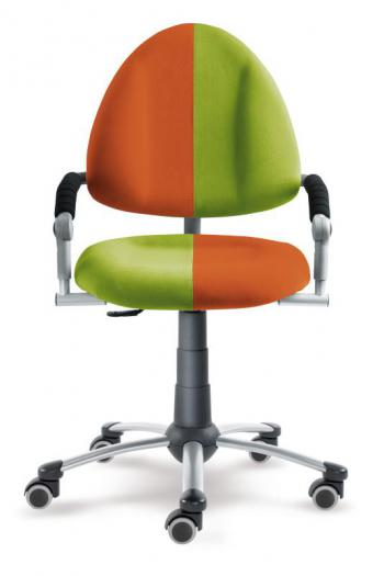 Rostoucí dětská židle FREAKY s oranžovo-zeleným čalouněním Mayer 2436_08_466